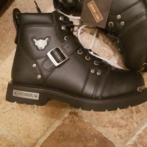 NWT in box Men's Harley Davidson biker boots